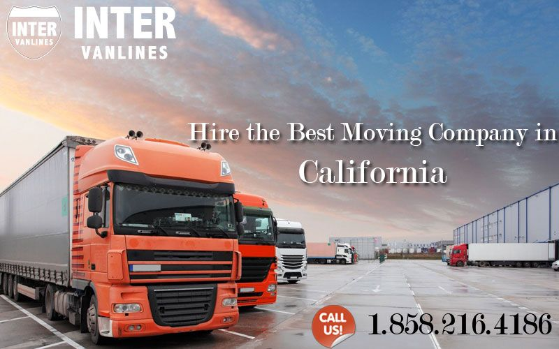 Hire the Best Moving Company in California Call us at 1