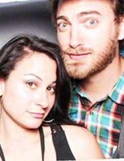 Rhett McLaughlin with Wife Jessie McLaughlin