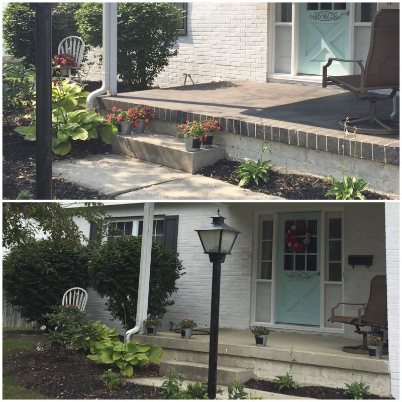 Staining Concrete Patio With Behr Semi Transparent Stain