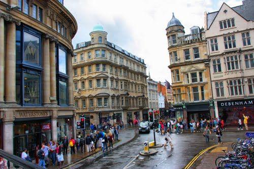 Оксфорд - город в Англии | 333x500