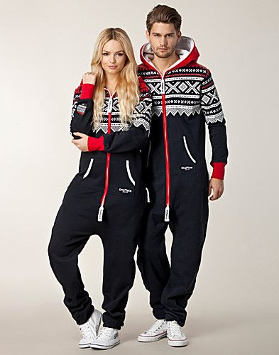 This Norwegian One Piece Sweatsuit Has a Celeb Following