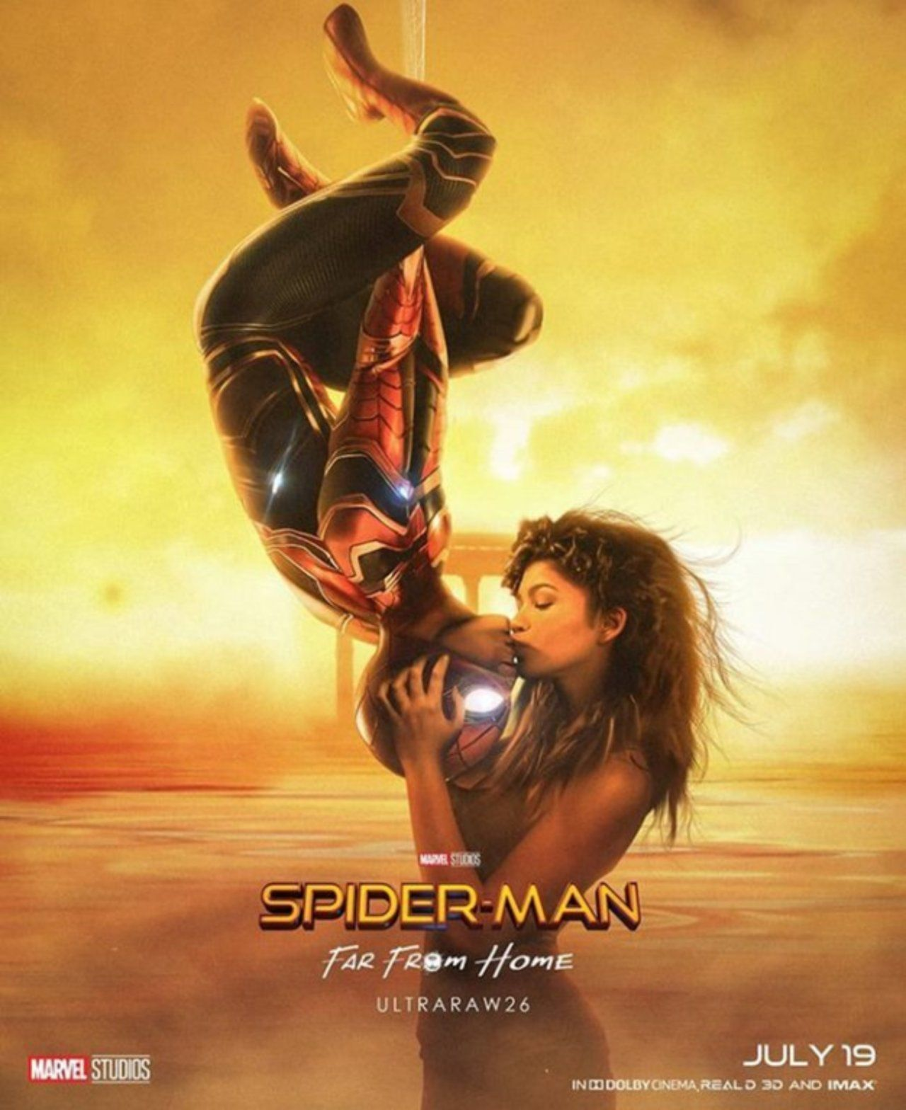 spider-man: far from home' fan poster pays tribute to original film