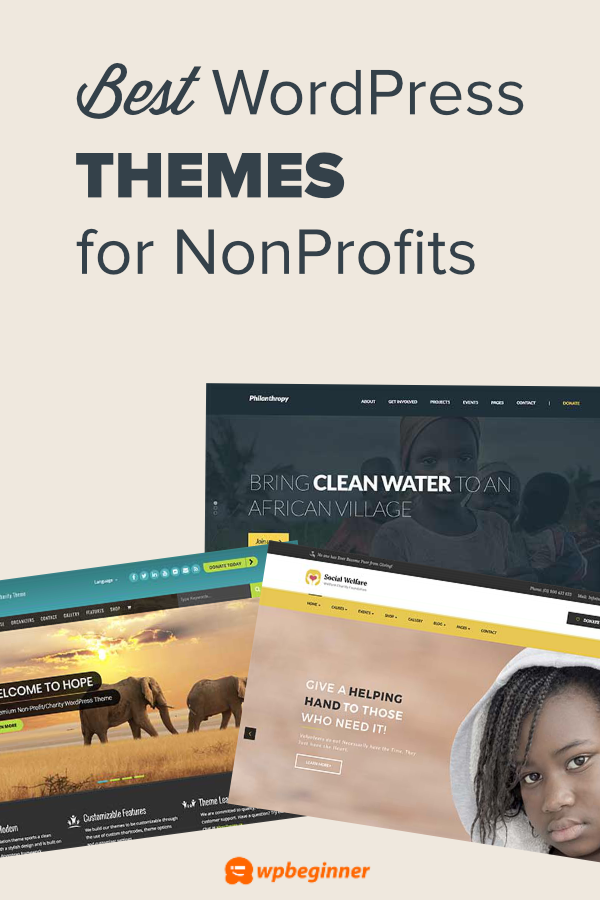 21 Best Wordpress Themes For Nonprofit Organizations 2021 Best Wordpress Themes Wordpress Theme Party Planning Business
