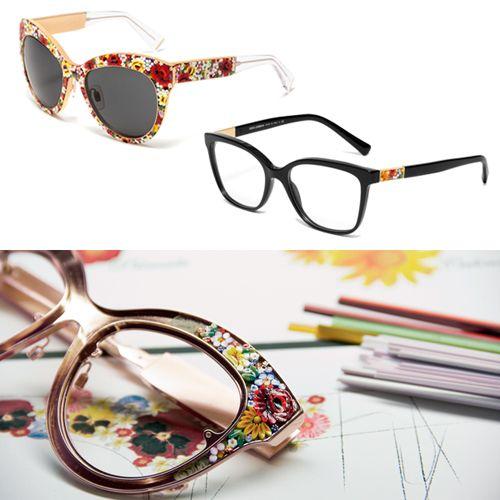 d6f96fb83 Dolce & Gabbana traz ao Brasil óculos decorados como mini-mosaicos ...