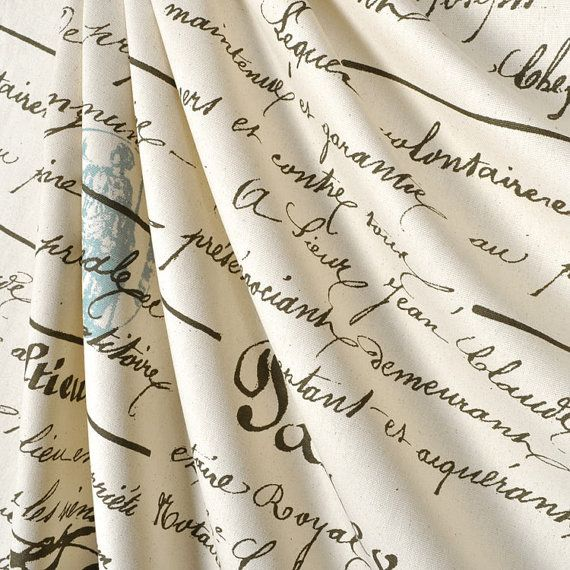 Shower Curtain French Penmanship Size 72x72 Grey Script Blue Stamp Shower Curtain On Etsy 79 00 Premier Prints Handwriting Analysis Natural Fabrics
