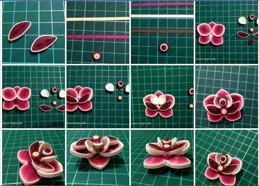 Quilling Techniques Videos