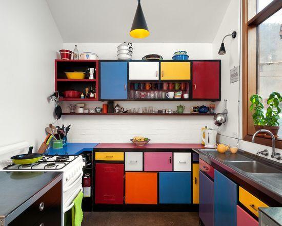 Colores para cocinas 2017 70 fotos y tendencias modernas | diseño ...