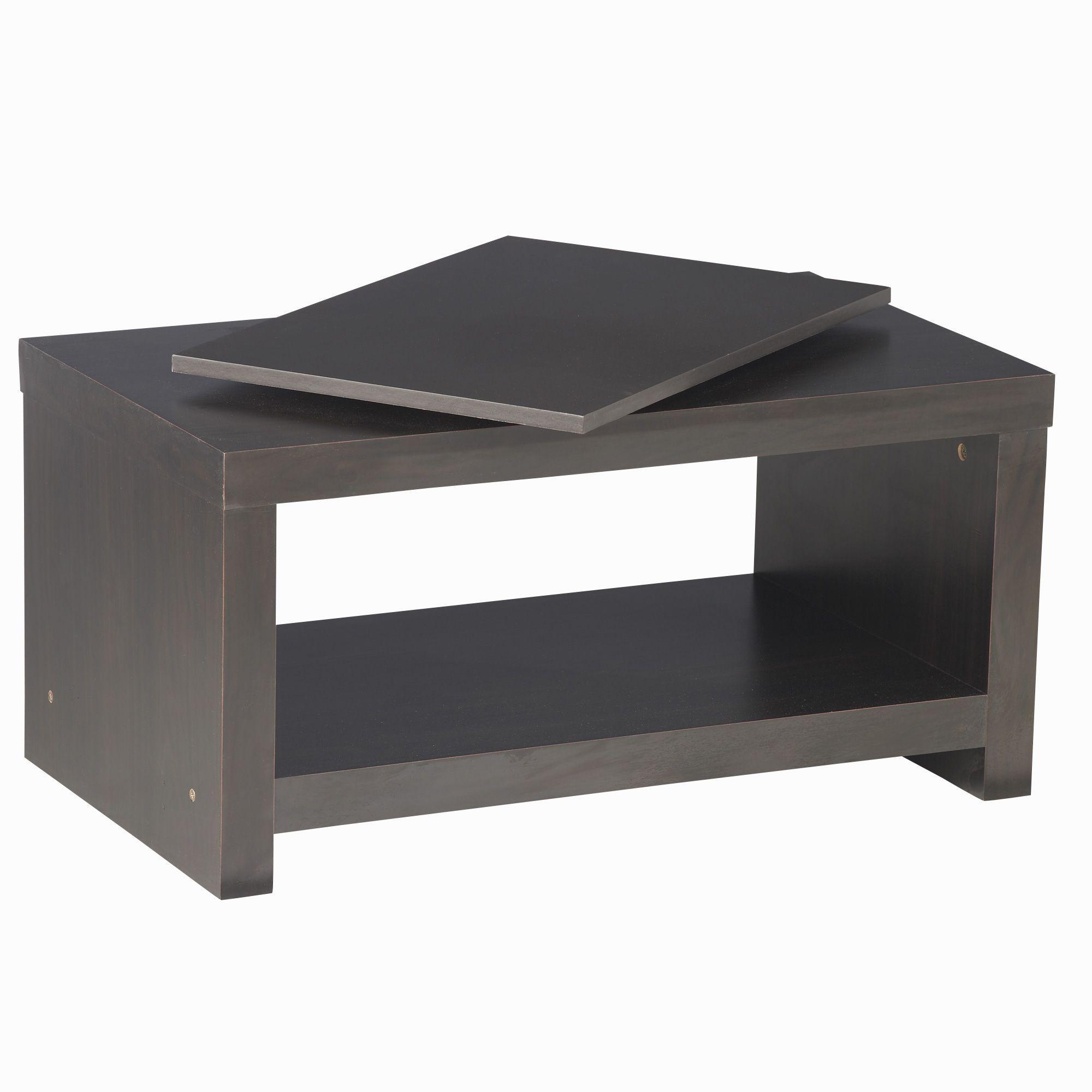 Plateau rotatif pour meuble télé Wengé - Bob - Les meubles télé - Les meubles et accessoires tv - Salon et salle à manger - Décoration d'intérieur - Alinéa