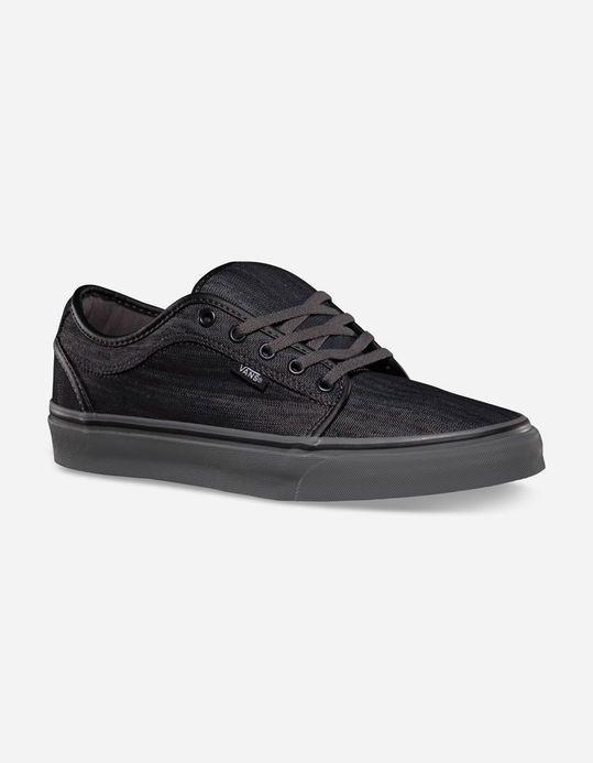 d65d1ffe16fea8 VANS Chukka Low Blackout Kids Shoes