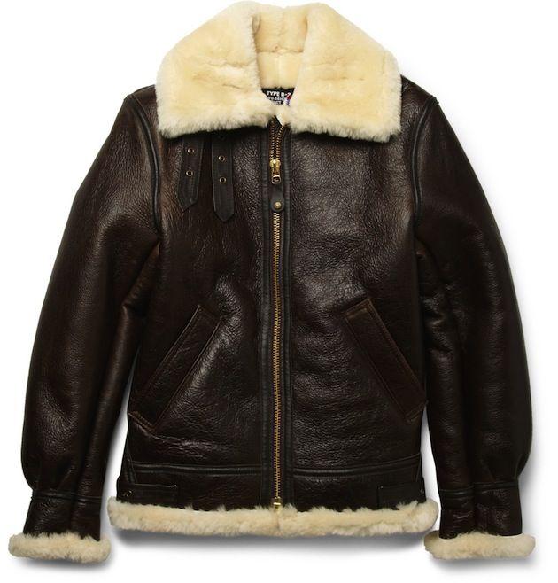 Schott B-3 Sheepskin Bomber Jacket | UpscaleHype | My Style ...
