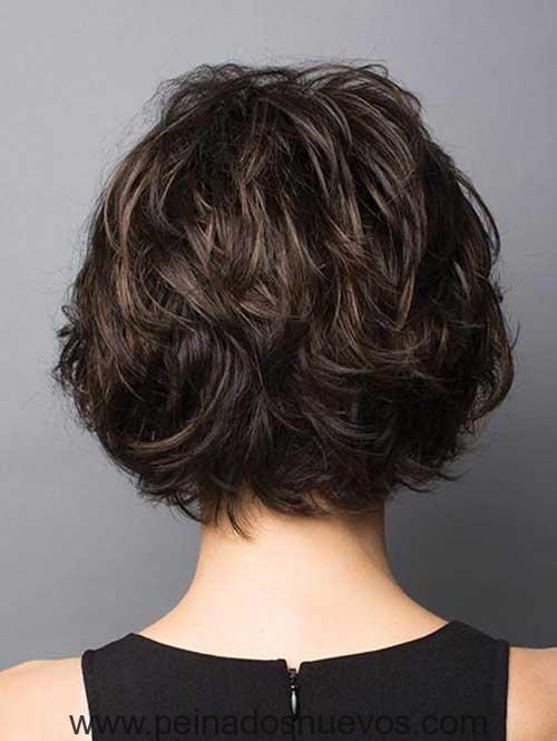 Corte en capas de cabello corto