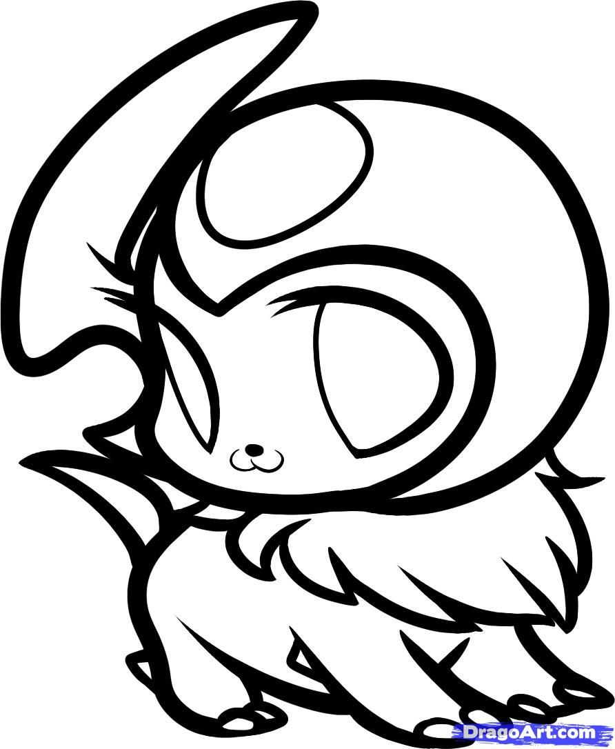 pokemon chibi coloring pages - photo#24