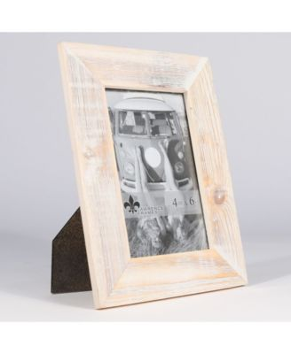 Lawrence Frames Sarasota Whitewash And Weathered Natural Wood Picture Frame 4 X 6 Reviews Picture Frames Home Decor Macy S Picture On Wood Wood Picture Frames Picture Frames