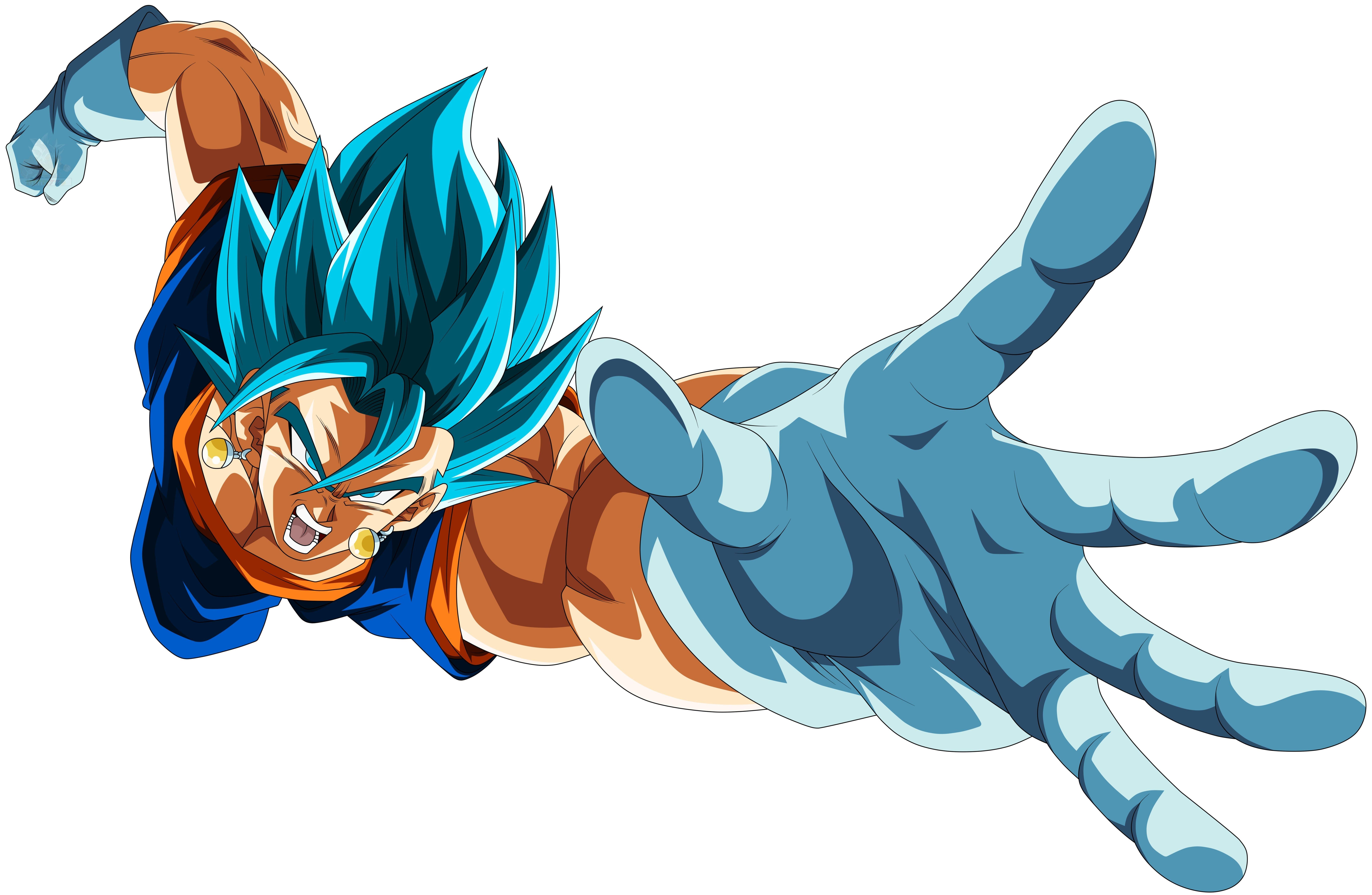 Vegetto Ssj Blue Anime Dragon Ball Super Dragon Ball Image Dragon Ball Artwork