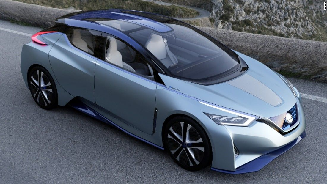 Nissan Ids Concept Japan S Affordable Rival To The Tesla Model S In 2020 Nissan Leaf Nissan Electric Concept Cars