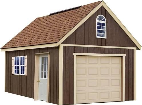 15 X 20 Shed Kit Wood Garage Kits Wood Shed Kits Storage Shed Kits