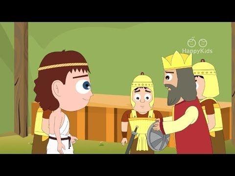 Jonathan Helps David Story For Kids