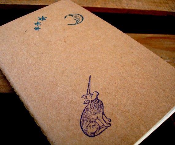 Unicorn under the stars journal
