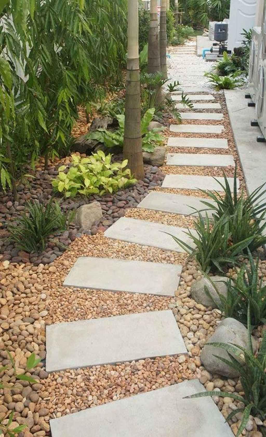 95 Fantastic Side Yard Garden Pathway Landscaping Ideas #sideyards