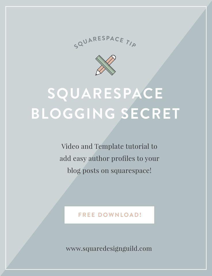 Squarespace tricks