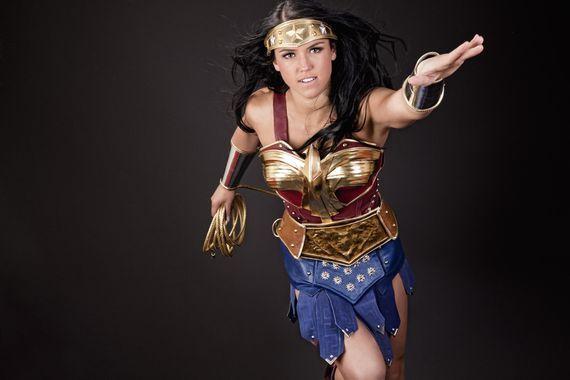 Wonder Woman fan costume