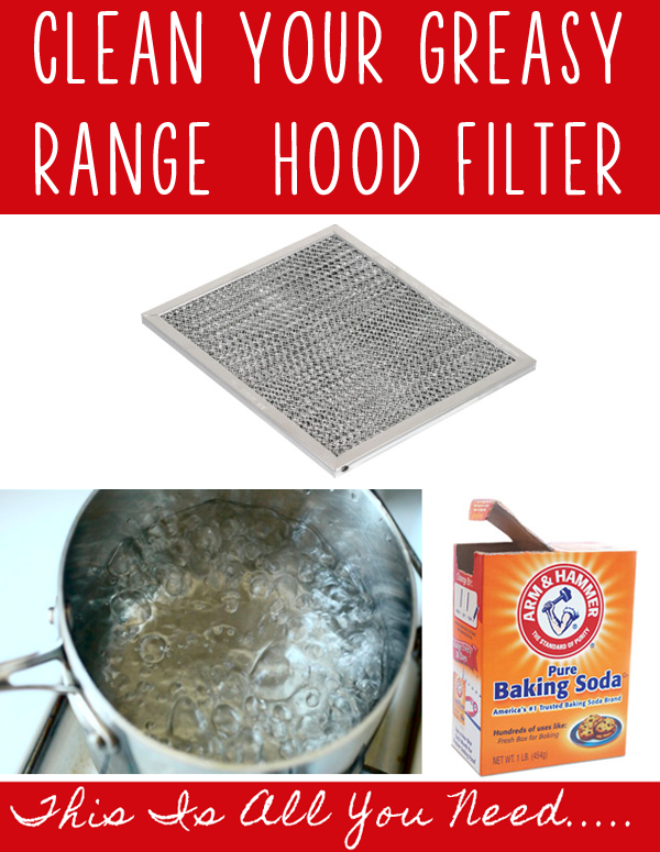 How To Clean Your Greasy Range Hood Filter It S Much Easier Than You Think One Good Thing By Jillee Cleaning Hacks House Cleaning Tips Cleaning Household