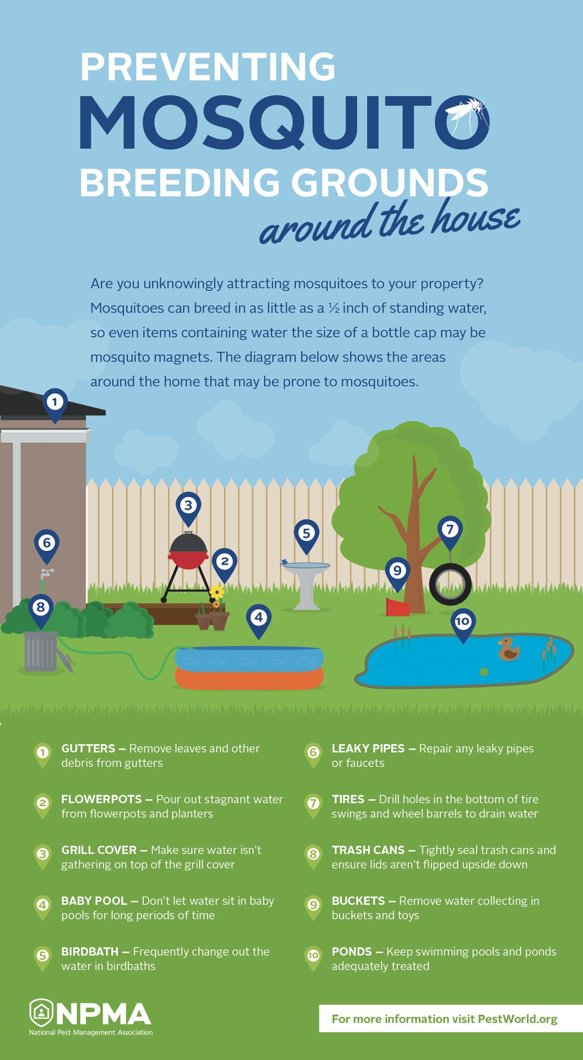 How to Prevent Mosquito Breeding in Rain Barrels advise