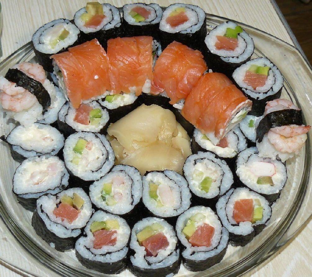 суши в домашних условиях рецепты с фото открытых участках