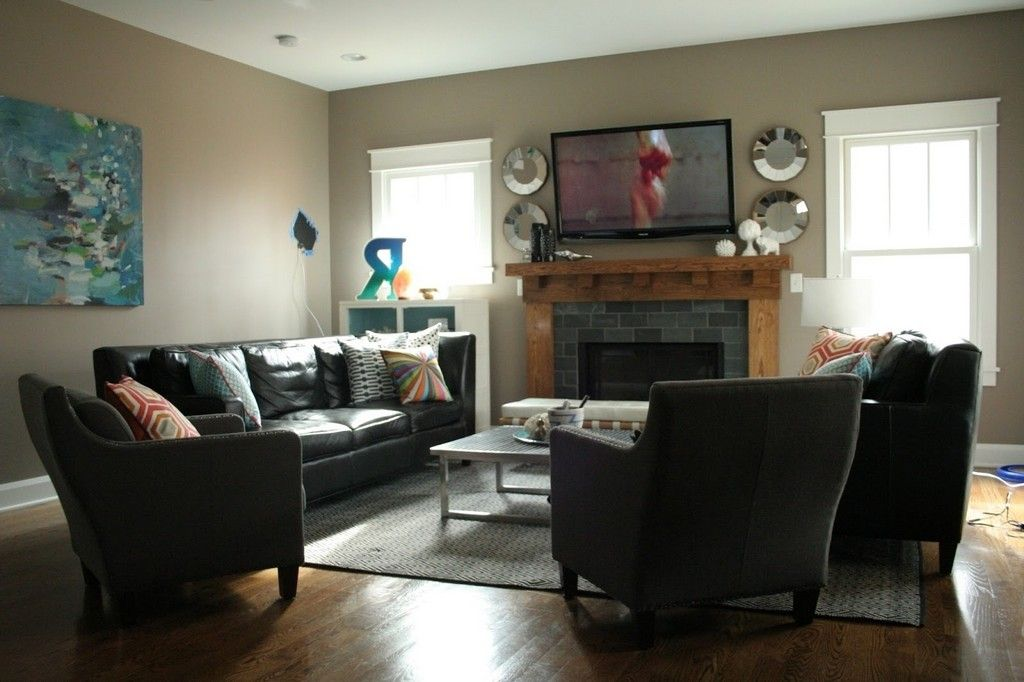 Narrow Living Room Layout With Tv Two
