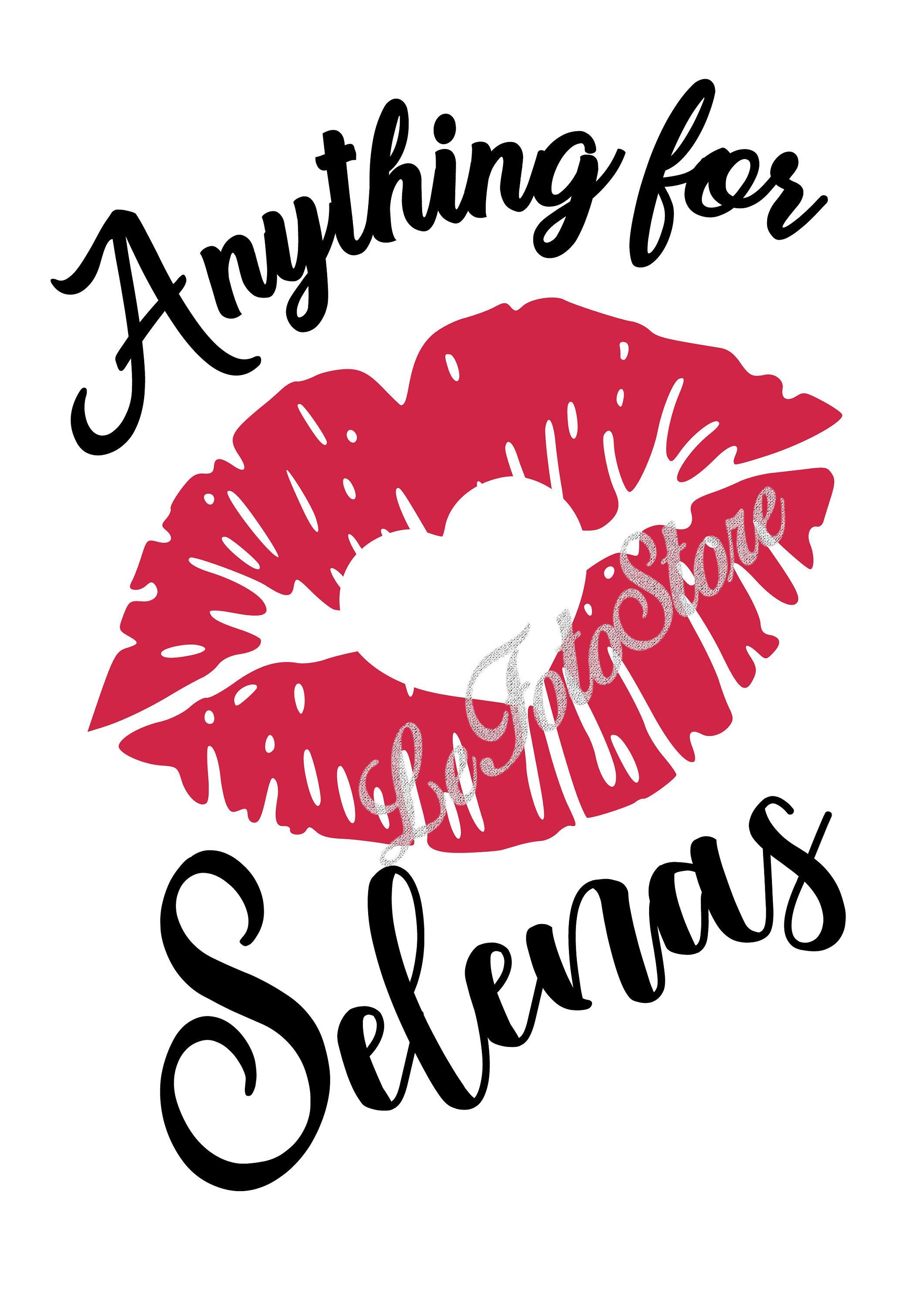 Digital Svg Png Jpg Pdf Selena Quintanilla Silhouette Vector Clipart Instant Download Red Lips Heart Ki Selena Quintanilla Selena Selena Quintanilla Quotes