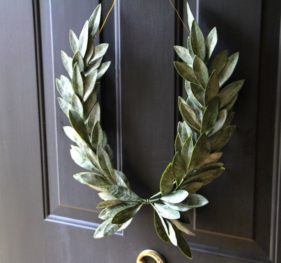 Thelastangels Q Ddd Bay Leaves Laurel Wreath Faux Leaf