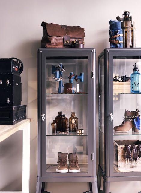 Ikea se apunta a la moda de las vitrinas de médico   Etxekodeco