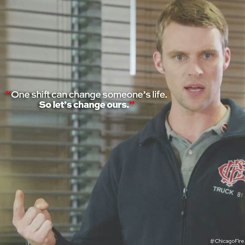 One shift can change it all... #so true #savecasey #firehouse51