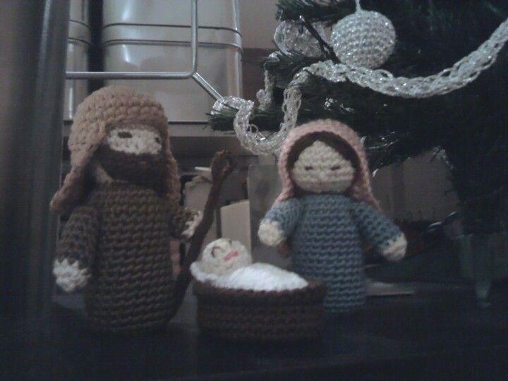 Amigurumi Navidad Nacimiento : Nacimiento amigurumi con naturadmc navidad crochet