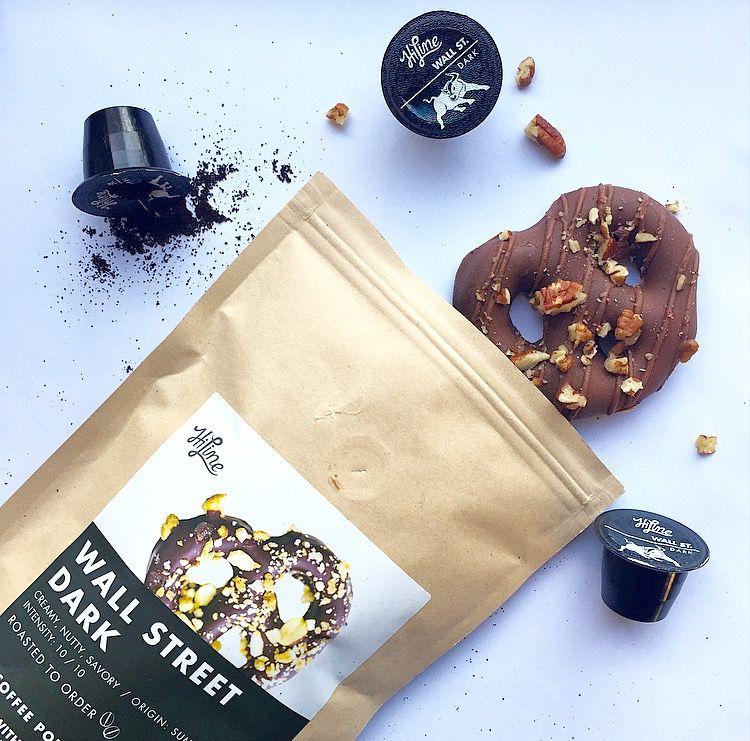 Wall Street Dark Roast Creamy, nutty, savory Intensity