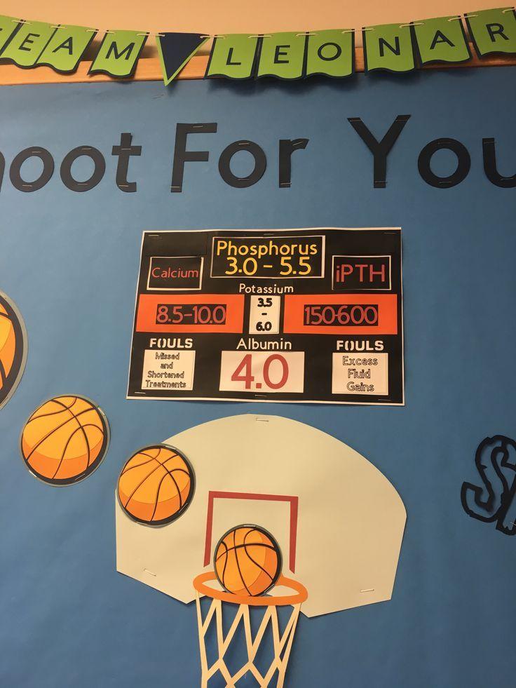 basketball shoot for your goals bulletin board Goals