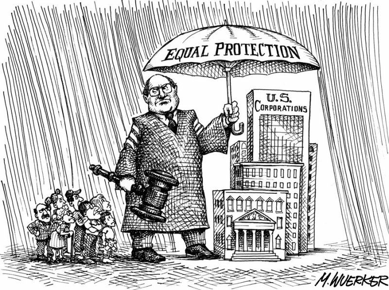 The Myth Of Corporate Personhood  Deceit Red State And Politicians