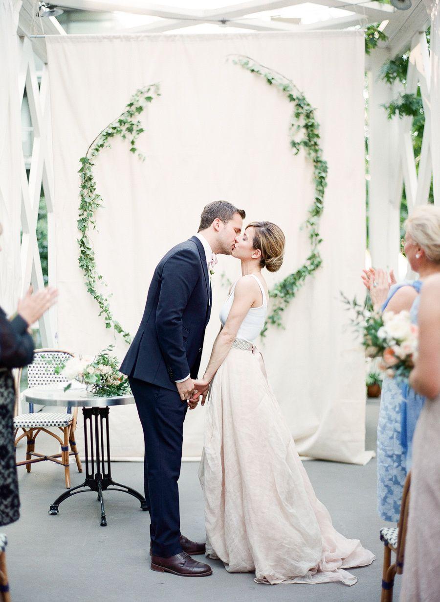 The Cutest French Café Wedding Ever   Parisian wedding, Weddings and ...