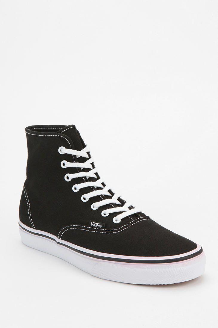 Vans Authentic Canvas High-Top Sneaker