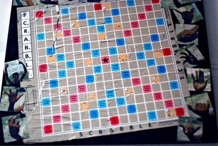 Decoupage A Coffee Table Top With A Board Game