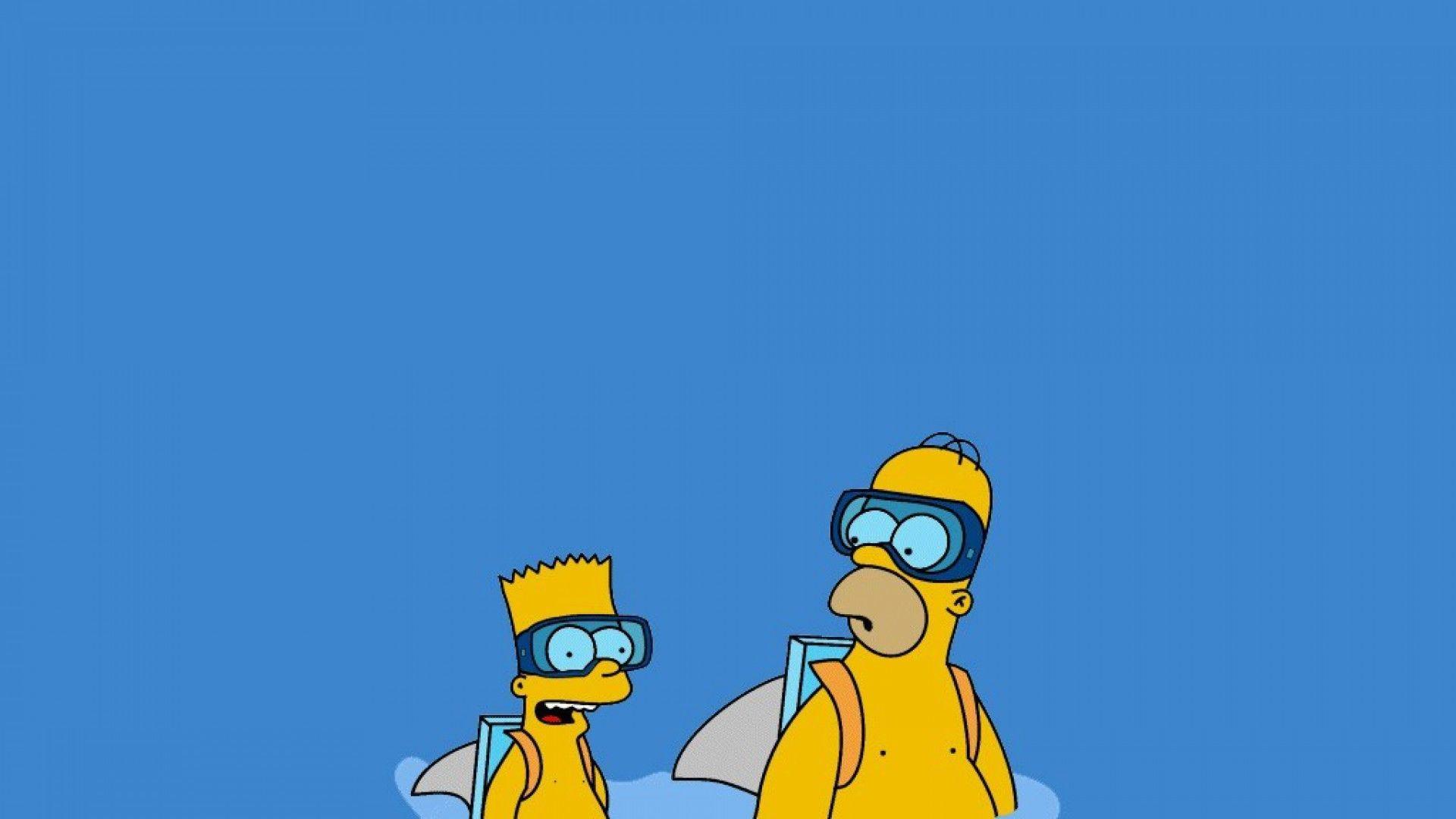 1920x1080 Bart Simpson Homer Simpson Bart Simpson Homer Simpson Bart