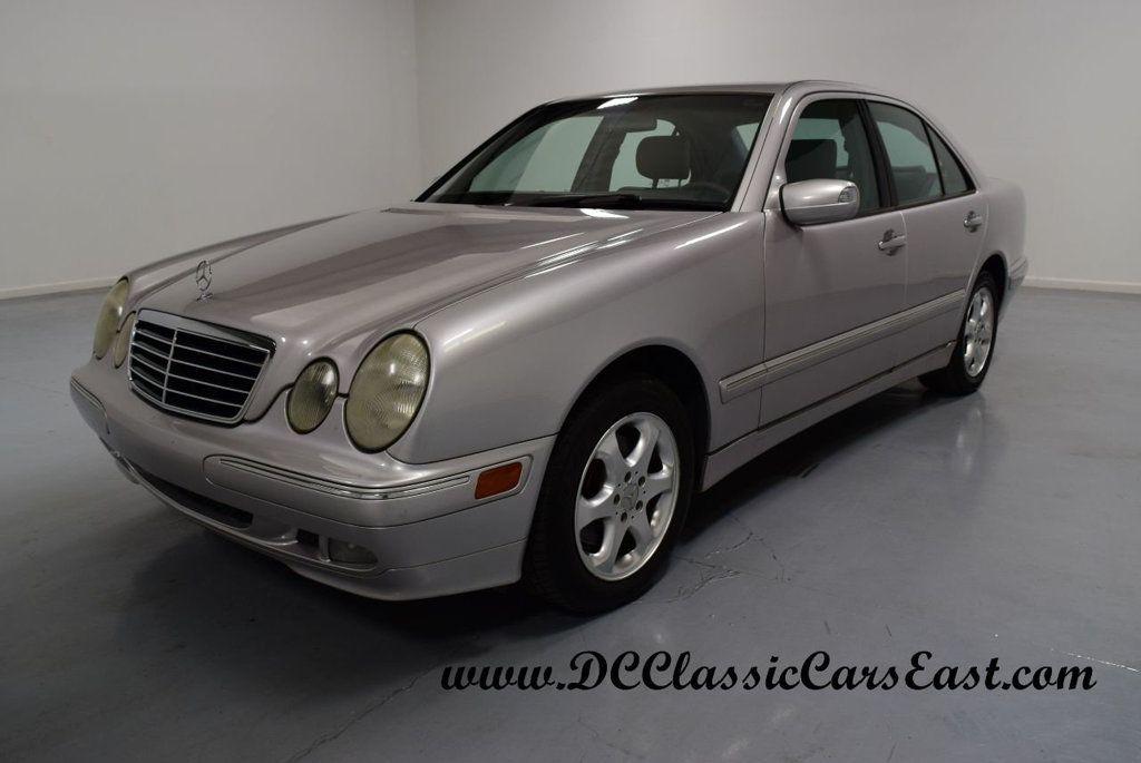 2002 mercedesbenz eclass 4matic awd 32l v6 auto