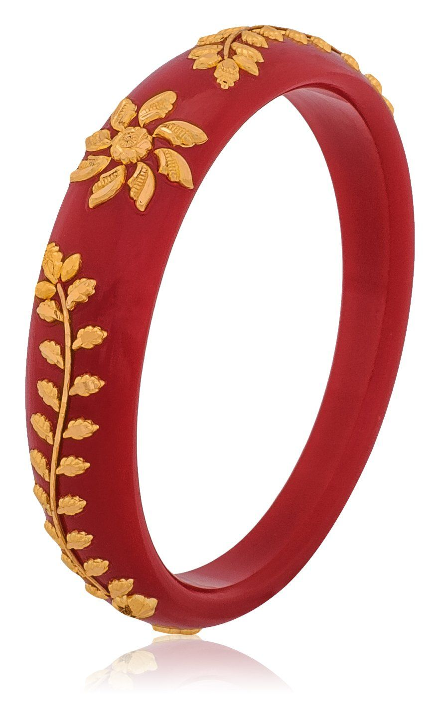 Buy Senco Gold 22k Yellow Gold Bangle Online At Low Prices