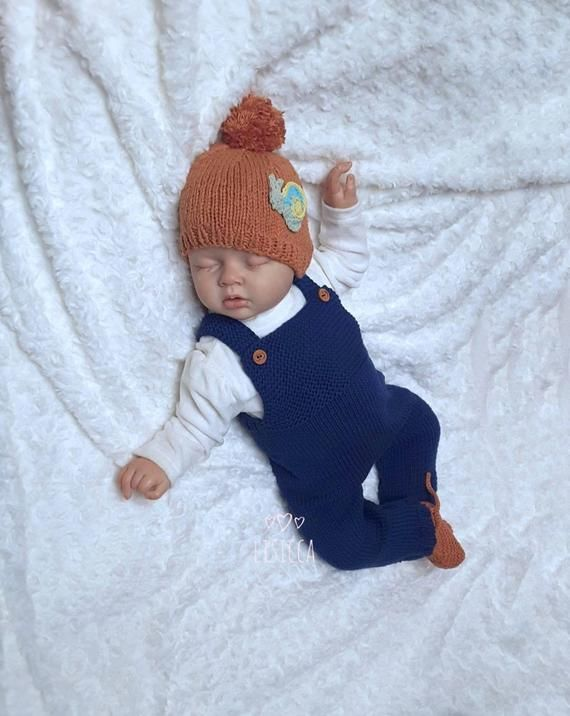 Photo of Items similar to Knitted baby boy girl coming home outfit Knit baby cotton romper Baby knitted clothes Hand knitted newborn outfit Baby cotton jumpsuit on Etsy