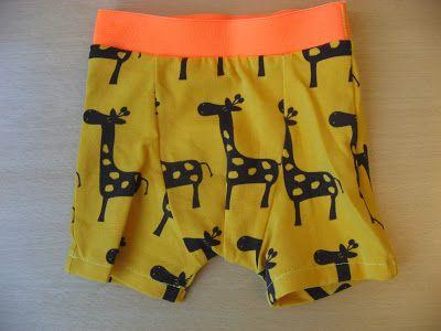 Fru Flittig: Forsøg med at lave boxershorts :)