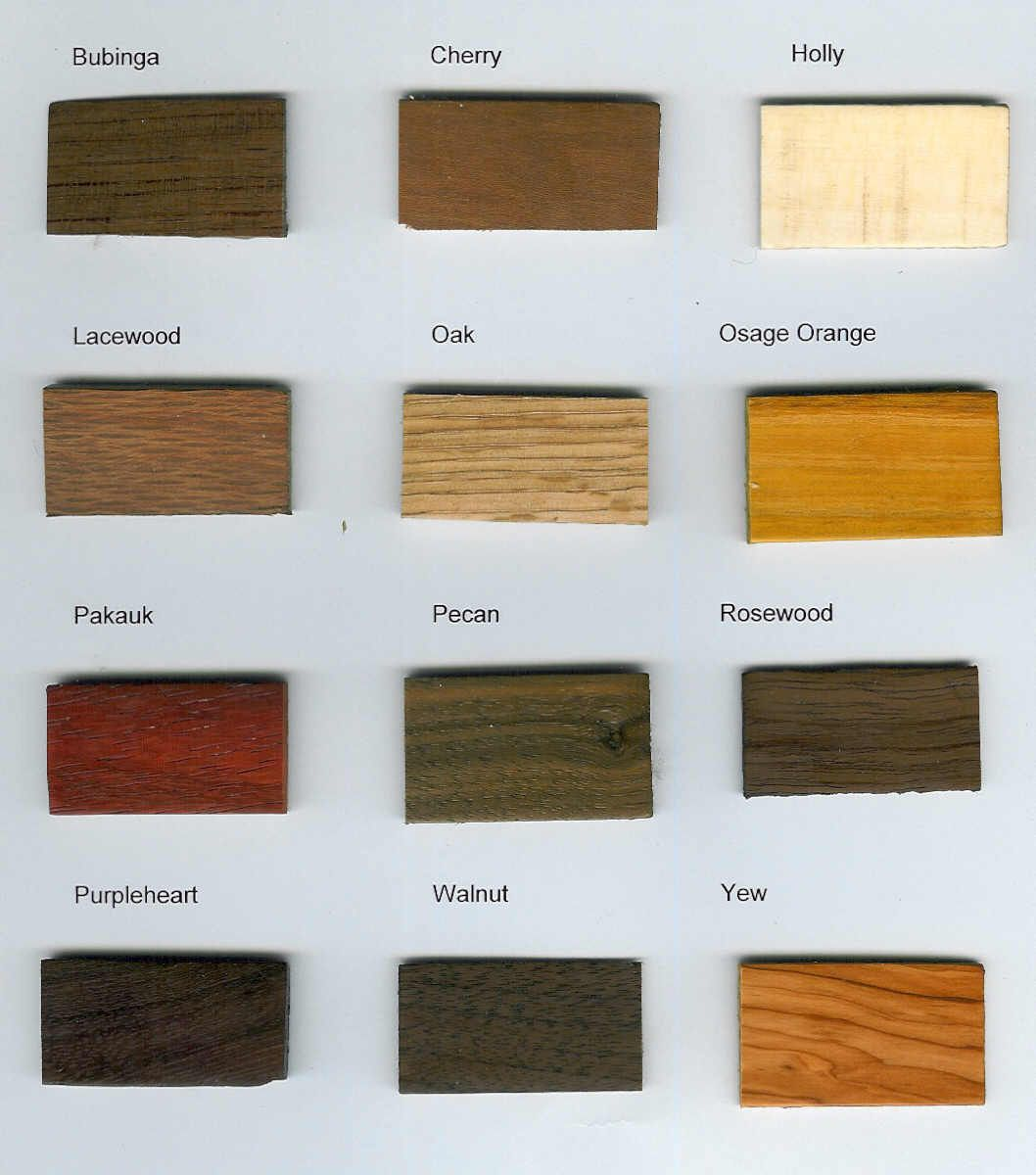 Types Of Wood Google Search