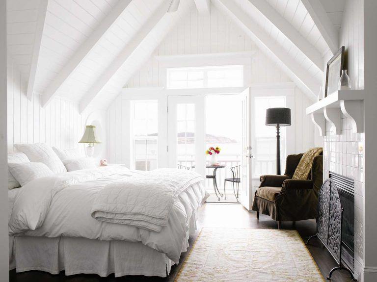 Дизайн Спальни На Мансарде: 200+ (Фото) Оформленных ...