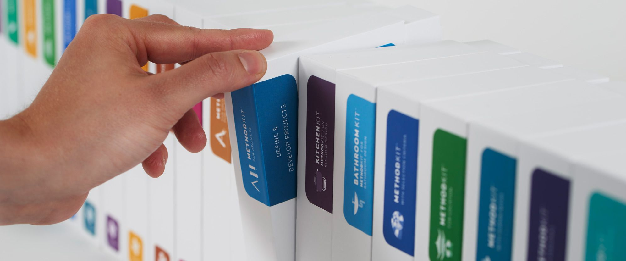 MethodKit are analogue decks of cards that facilitate meetings and help people to develop projects.