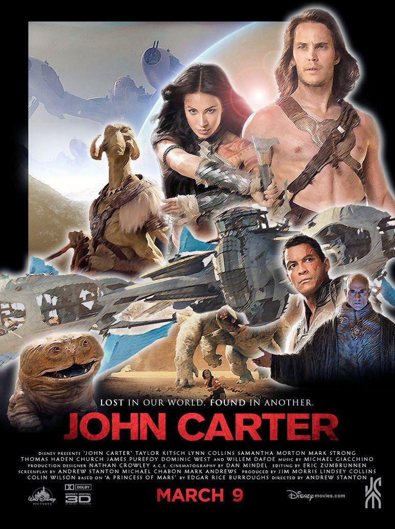 John Carter Of Mars Movie Poster 8 5 X 11 T 4 John Carter Of Mars Mars Movies Lynn Collins