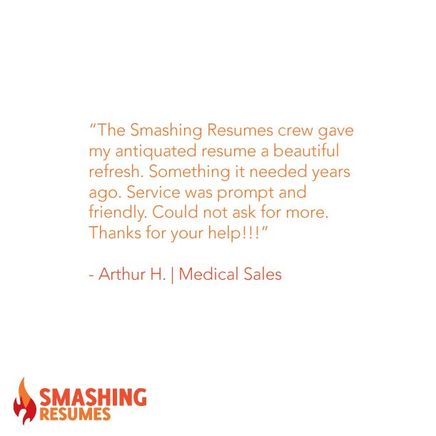 The Smashing Resumes crew gave my antiquated resume a beautiful - resume review service